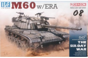 Model Kit tank 3581 - IDF M60 w/ERA (1:35)