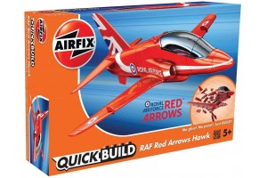 Quick Build letadlo J6018 - RAF Red Arrows Hawk