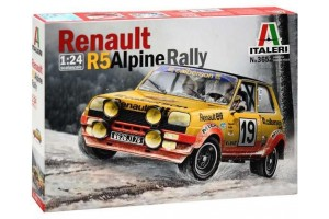 Model Kit auto 3652 - RENAULT R5 ALPINE RALLY (1:24)