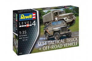 M34 Tactical Truck & Off Road Vehicle (1:35) - 03260