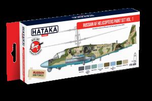 Helikoptéry ruského letectva 1 (Russian AF Helicopters paint set vol. 1) - AS86