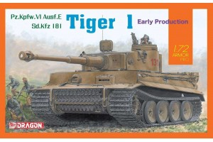 SD.Kfz Tiger I Early Production (1:72) - 7482