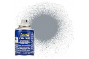 34191: metalická ocelová (steel  metallic) - sprej