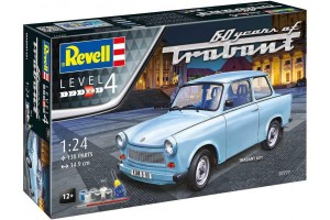 Gift-Set auto 07777 - Trabant 601S 60 Years of Trabant (1:24)