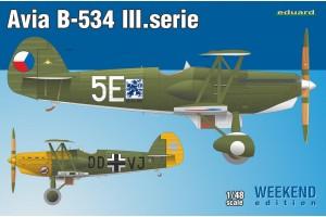 Avia B-534 III. série (1:48) - 8478