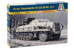 Model Kit military 6546 - 15 cm. PANZERWERFER 42 AUF SD.KFZ. 4/1 (1:35)