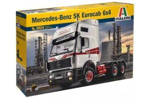 Model Kit truck 3924 - MERCEDES-BENZ SK EUROCAB 6x4 (1:24)