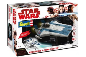 Build & Play SW 06762 - Resistance A-wing Fighter (modrý)