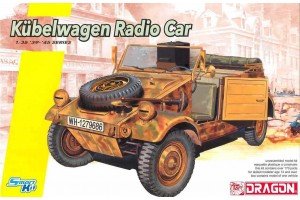 Model Kit military 6886 - Kubelwagen Radio Car (1:35)