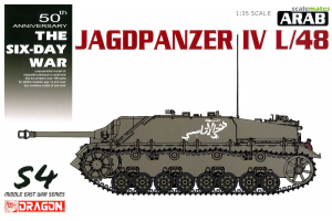 Arab Jagdpanzer IV L/48 - The Six Day War (1:35) - 3594