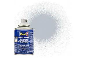 Barva Revell ve spreji - 34199: metalická hliníková (aluminium  metallic)