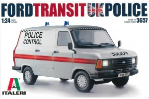 Model Kit auto 3657 - Ford Transit UK Police (1:24)