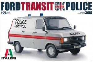 Model Kit auto 3657 - Ford Transit UK Police (1:24)