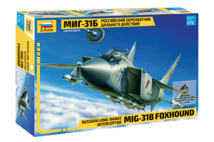 MIG-31B FOXHOUND (re-release) (1:72) - 7244
