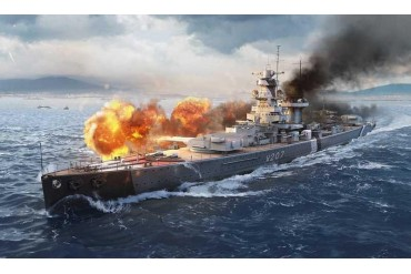 Model Set World of Warships 74003 - Admiral Graf Spee (1:72)