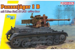 Model Kit tank 6781 - Panzerjäger IB mit StuK 40 L/48 (Smart Kit) (1:35)