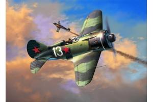 Plastic ModelKit letadlo 03914 - Polikarpov I-16 type 24  Rata (1:32)