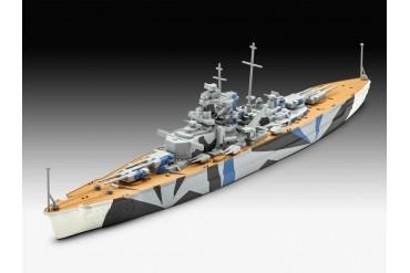 ModelSet loď 65822 - Tirpitz (1:1200)