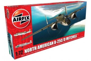 North American B25C/D Mitchell (1:72) - A06015