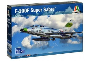 Model Kit letadlo 1398 - F-100F SUPER SABRE (1:72)