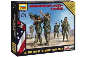 """Wargames (HW) figurky 7416 - US SAM FIM-92 """"Stinger"""" (1:72)"""
