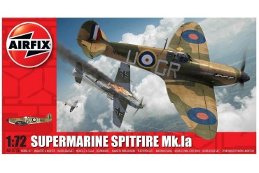 Classic Kit letadlo A01071B - Supermarine Spitfire Mk.Ia (1:72)