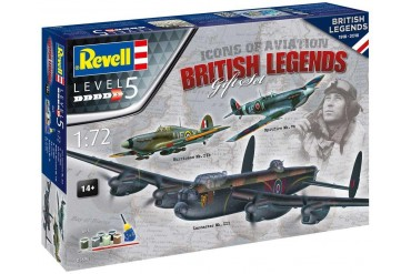 Gift-Set letadlo 05696 - 100 Years RAF: British Legends (1:72)