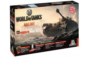 Model Kit World of Tanks 36513 - Panzer IV (1:35)