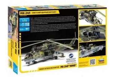 "Model Kit vrtulník 7315 - MIL-24P ""HIND"" (1:72)"