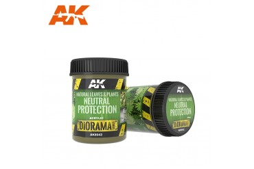 NATURAL LEAVES & PLANTS NEUTRAL PROTECTION - AK8042