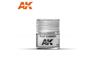 Matný lak (Flat Varnish) 10ml - RC500