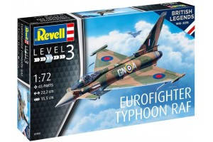 Plastic ModelKit letadlo 03900 - 100 Years RAF: Eurofighter Typhoon (1:72)