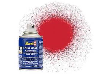 Barva Revell ve spreji - 34330: hedvábná ohnivě rudá (fiery red silk)