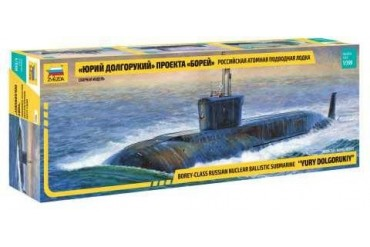 "Model Kit ponorka 9061 - Nuclear Submarine ""Yury Dolgorukiy"" (1:350)"