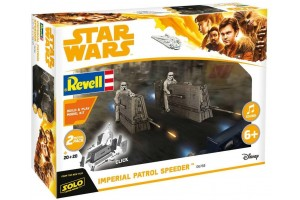 Build & Play SW 06768 -  Imperial Patrol Speeder