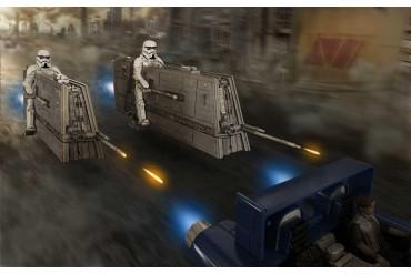 Build & Play SW 06768 -  Imperial Patrol Speeder