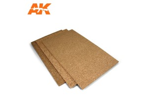 CORK SHEET – FINE GRAINED 200X300X1MM - 8046