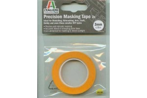Precision Masking Tapes 50826 - maskovací páska 3 mm - 2 ks