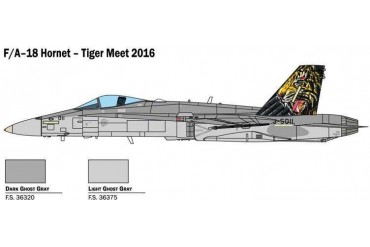 Model Kit letadlo 1394 - F/A-18 HORNET TIGER MEET 2016 (1:72)