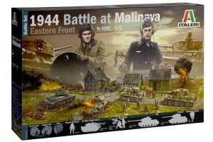 Wargames diorama 6182 - 1944 BATTLE AT MALINAVA (1:72)