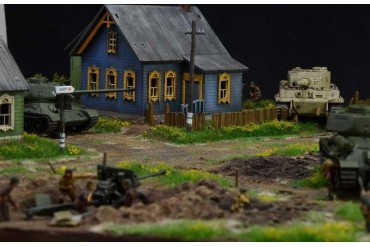 Wargames diorama 6182 - 1944 BATTLE AT MALINAVA (1:72)