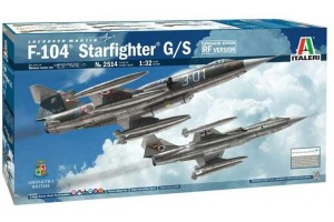 F-104 STARFIGHTER G/S - Upgraded Edition RF version  (1:32) - 2514