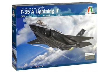 Model Kit letadlo 1409 -F-35 A LIGHTNING II CTOL version (1:72)
