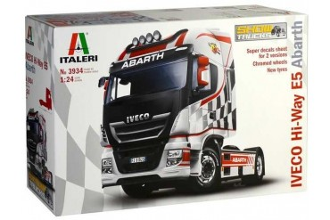 Model Kit truck 3934 - IVECO HI-WAY E5 ABARTH (1:24)