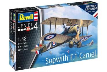 Plastic ModelKit letadlo 03906 - 100 Years RAF: Sopwith Camel (1:48)