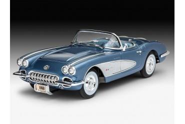 ModelSet auto 67037 - '58 Corvette Roadster (1:25)