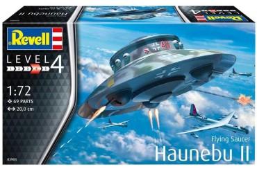Plastic ModelKit letadlo 03903 - Flying Saucer Haunebu (1:72)