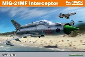MiG-21MF interceptor (1:72) - 70141