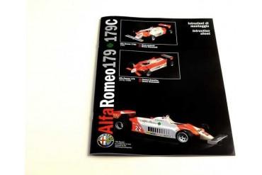 Model Kit auto 4704 - Alfa Romeo 179 - 179C (1:12)