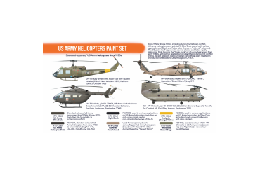 Helikoptéry armády US (US Army Helicopters) - CS19